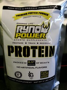 Ryno Protein - A  clean & pure premium whey protein blend.